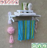 Crémaillère d'essuie-main sanitaire de matériel avec la cuvette d'aspiration de vide d'air