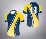 Uniforme sublimé de rugby de broderie avec votre logo
