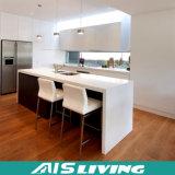 Laca popular y armario Furnture (AIS-K076) de la cabina de cocina del MDF