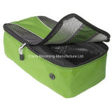Sac de chaussures de voyage portable Mesh Mesh Waterproof Nylon Custom Sports Gym