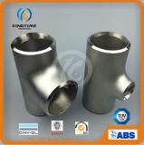 Acier inoxydable solides solubles réduisant le té avec les garnitures de pipe de la CE (KT0277)