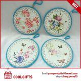 Agua redonda Untiskid de cerámica absorbente Tablemat de Christams para el regalo de la cocina