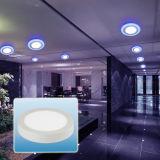 Luz de painel redonda nova do diodo emissor de luz do projeto 6W-24W/para baixo luz