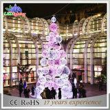 Im Freien 3D Weihnachtsbaum mit Kugeln für Einkaufszentrum