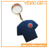 Silicón suave barato modificado para requisitos particulares Keychain del PVC de la alta calidad para la decoración