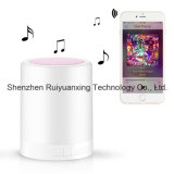 Intelligentes Touchable Bluetooth Speaker mit LED Lamp (Pink)