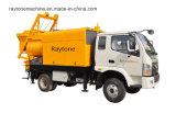 Förderwagen eingehangene Dieselbetonpumpe