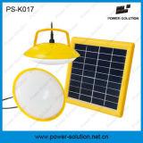 PV 태양 전지판 수동 크랜크 장비를 가진 둥근 태양 LED 빛