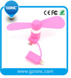 Mini ventilateur de vente chaud du produit USB pour le téléphone mobile