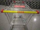 Caddies de supermarché de type de caddie avec 210L
