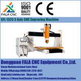 Macchina per incidere di legno dei sistemi CNC del router di CNC di Xfl-1325 5-Axis che intaglia macchina