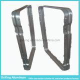 Profil de anodisation de recourbement d'aluminium d'armature de commande numérique par ordinateur d'usine en aluminium