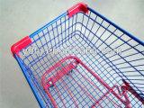 Chariot américain à achats de supermarché