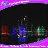Acqua Screen Movie con il laser Curtain Music Dancing Fountain