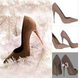 Способ обувает ботинки женщин ботинок платья высоких пяток