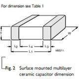 Capacitor Cc0603krx7r9bb102 d'usage général et haute capacité