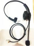 Disturbo leggero di comunicazioni che annulla la cuffia della call center con l'asta Mic di alta qualità