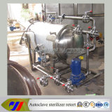 Heating elettrico Sterilizing Equipment per Foods
