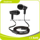 Auriculares prendidos estereofónicos do Mic Smartphone do baixo da potência
