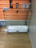 Étalage Tempered clair simple de Module en verre avec le blocage pour la cuisine Hall de bureau de meubles