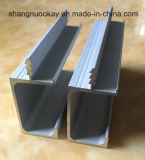 Fonte Frame Door Kitchen Cabinet Handle Aluminium Extruded Profile em Highquality