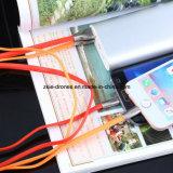 Magnetisches USB-Kabel-Datenübertragung Mikro-USB-Kabel kundenspezifisches USB-Kabel für Handy, iPhone und Samsung. Kabel-Verbinder USB-2 in-1
