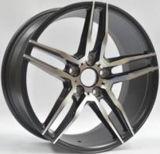 17X7.5の17X10作業車輪、大きいリップの合金の車輪