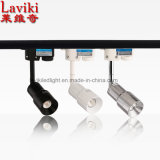 Focus Zoom Proyector de pista ajustable LED con 3-6W