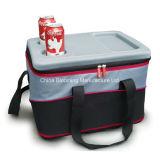 Sacchetto freddo del dispositivo di raffreddamento dell'isolamento del pranzo del refrigeratore del ghiaccio termico di picnic del BBQ di EVA