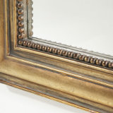 최신 판매는 고대 금에 의하여 짜맞춰진 벽 미러를 활 모양으로 했다