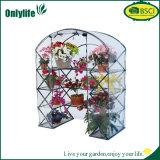 Onlylife 4 층 투명한 PVC 정원 소형 온실