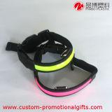 Accessori all'ingrosso registrabili dell'animale domestico del collare di cane di riflessione LED del poliestere