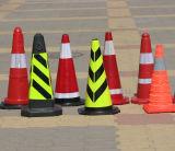 PP & 고무 도로 시설 경고 소통량 사려깊은 콘 표시