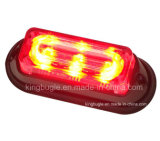 3W Waterproof LED Warning 갑판 Light (SL623-S Green)