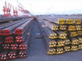 Carril de acero del estándar del estruendo 536 para el edificio ferroviario