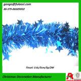 De Slinger van het Klatergoud van de Folie van Kerstmis