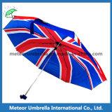 3 Folds Mini에 있는 영국 Flag Printed Umbrella