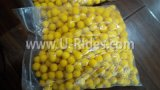"0.68 ""ballon en caoutchouc réutilisable paintball jaune"
