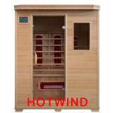 Sauna traditionnel de pièce de sauna de l'infrarouge 2016 lointain pour l'usage à la maison pour 3 personnes (SEK-B3)