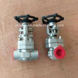 API602 forjou a válvula de porta da extremidade da soldadura de extremidade do aço inoxidável F316