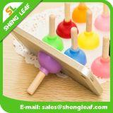 Sostenedor promocional móvil del teléfono de los regalos del silicón de encargo del OEM (SLF-SH002)