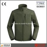 Износ оптовых водоустойчивых Breathable людей куртки Softshell напольный