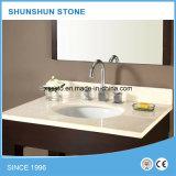 中国白の台所のための人工的な水晶石のカウンタートップ