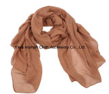 Solid Colorful를 가진 Fashion Voile Cotton Scarf 숙녀