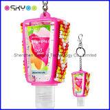 Cassa promozionale del silicone del supporto di Pocketbac del prodotto disinfettante della mano del regalo