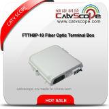 Rectángulo terminal óptico de fibra FTTH8p-10