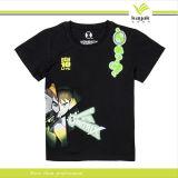 최신 판매 고무에 의하여 인쇄되는 t-셔츠