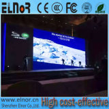 Pantalla de interior a todo color de alta resolución del alquiler P2.5 SMD LED