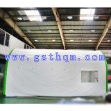 屋外の空気膨脹可能な白いですか屋外の巨大な投射の膨脹可能な立方体のテント