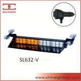 indicatore luminoso d'avvertimento del LED della visiera ambrata e bianca di 24W (SL632-V)